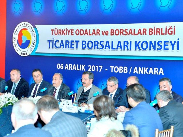 TOBB Ticaret Borsaları Konsey Toplantısı