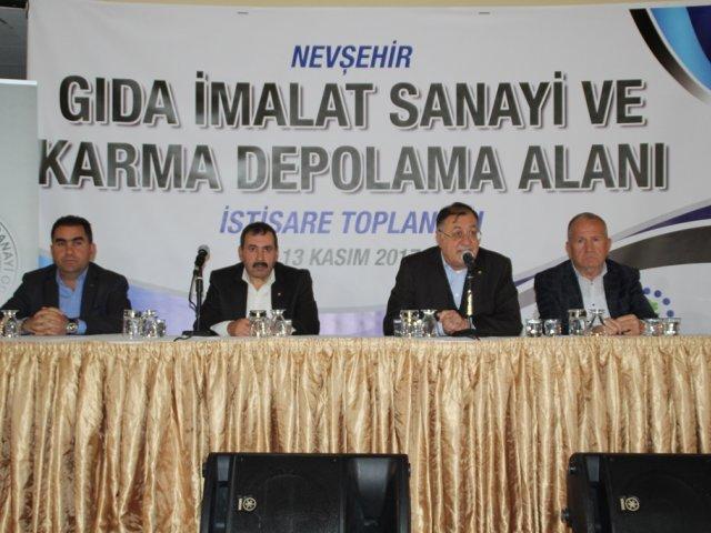 Gıda İmalat Sanayi Ve Karma Depolama Alanı İçin İstişare Toplantısı Düzenlendi