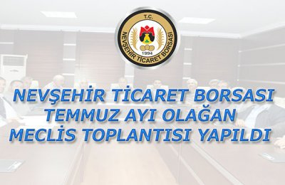 NTB Temmuz ayı Olağan Meclis Toplantısı Yapıldı