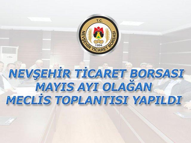 NTB Mayıs Ayı Olağan Meclis Toplantısı Yapıldı.