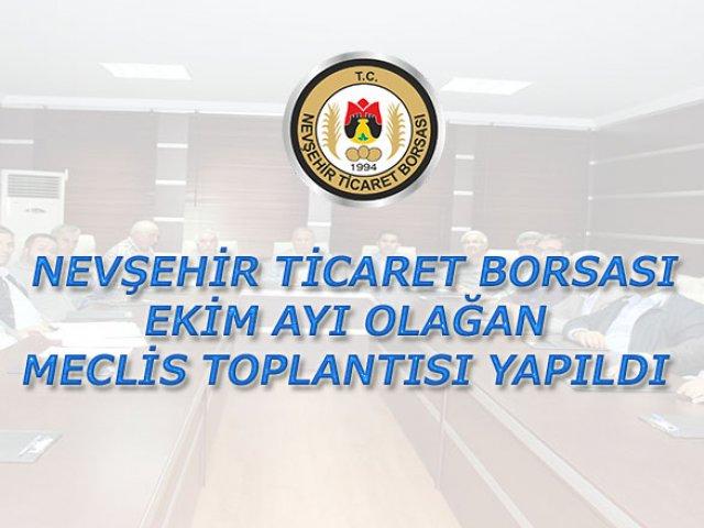NTB Ekim ayı Olağan Meclis Toplantısı Yapıldı