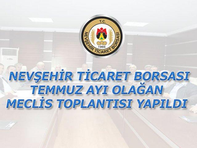 NTB Temmuz ayı Meclis toplantısı yapıldı