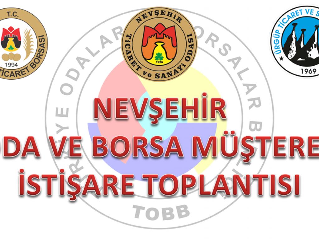 Nevşehir İli Odalar ve Borsalar Müşterek Toplantısı Video Konferans Aracılığıyla Gerçekleştirildi