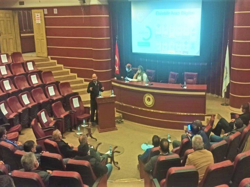 Nevşehir'de Çerezlik Kabak Üretim Ve Değerlendirme Toplantısı yapıldı