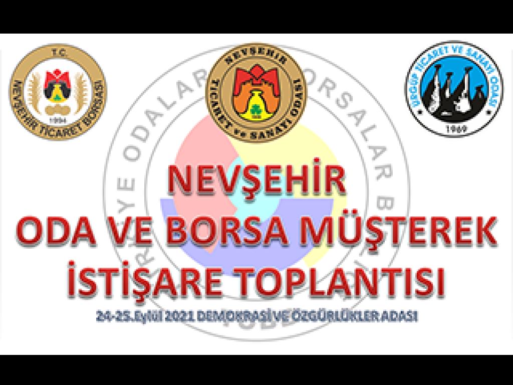 NTSO, NTB Ve ÜTSO Demokrasi Ve Özgürlükler Adası Odalar Borsalar Müşterek Toplantısı