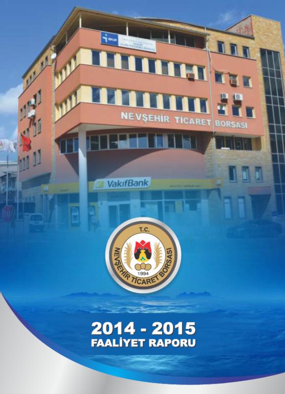 FAALİYET RAPORU 2014-2015