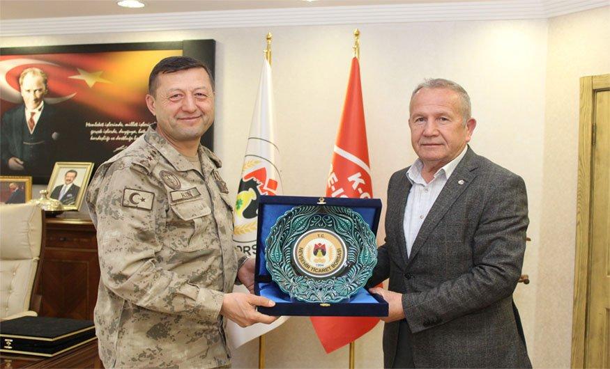 JAKEM Komutanı Altın, Başkan Salaş'ı Ziyaret Etti