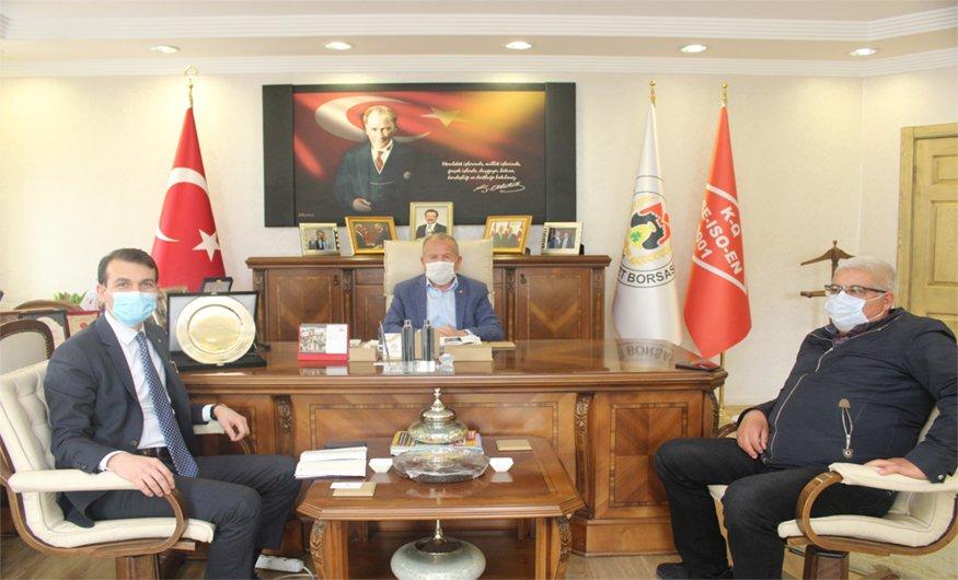 Denizbank'tan Nevşehir Ticaret Borsasına 'Nefes' Ziyareti
