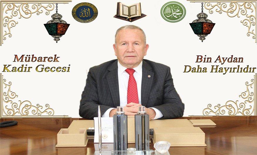 NTB'Başkanı Salaş'dan Kadir Gecesi Mesajı