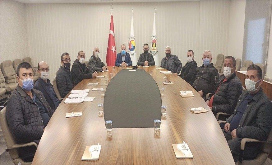 NTB Ocak ayı meclis toplantısı yapıldı
