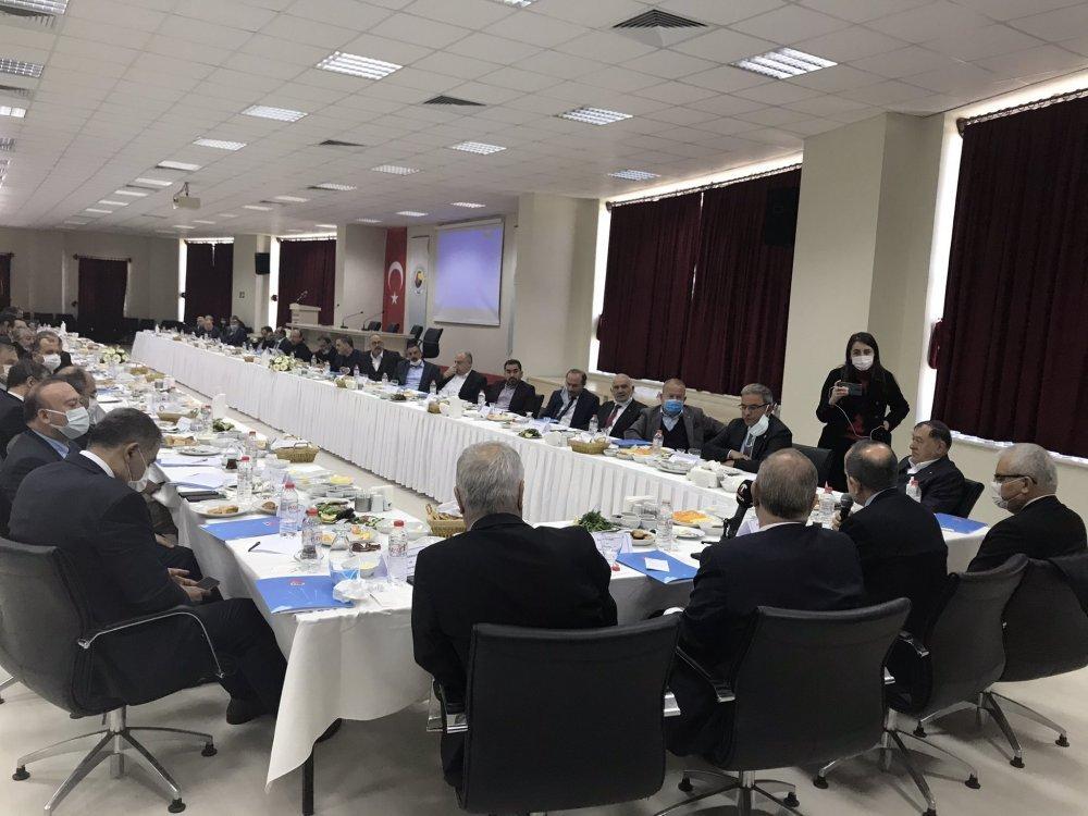 CHP Ekonomi Masası heyeti, Nevşehir iş dünyasıyla buluştu