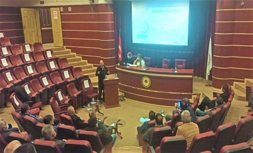 Nevşehir'de Çerezlik Kabak Üretim Ve Değerlendirme Toplantısı Düzenlendi