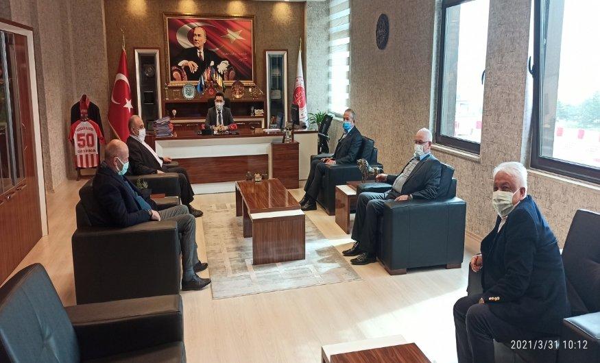 Nevşehir Başsavcı ve Ağır Ceza Mahkemesi Başkanına Ziyaret