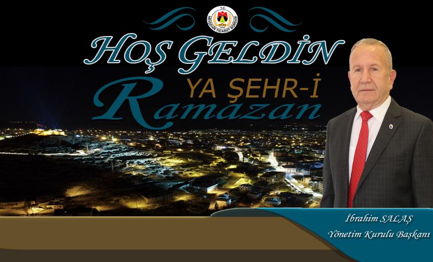 Başkan Salaş, Nevşehir Halkının Ramazan Ayını Tebrik Etti