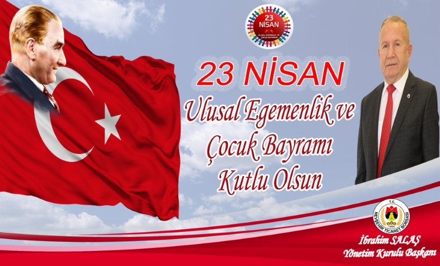 Başkan Salaş'dan 23 Nisan Mesajı