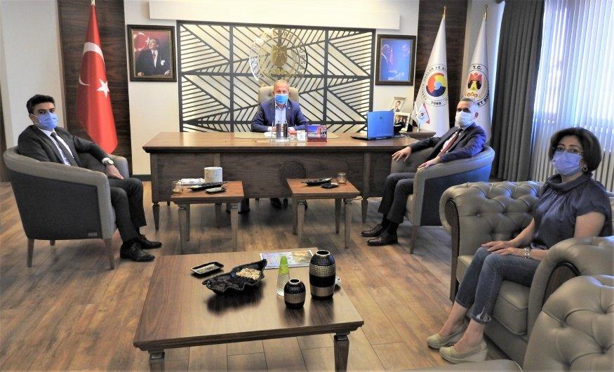 SGK Nevşehir İl Müdürü Baltacı'dan Başkan Salaş'a Ziyaret