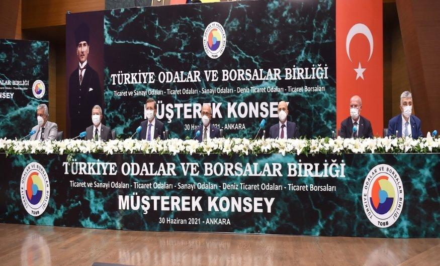 Başkan Salaş, TOBB Konseyleri müşterek toplantısına katıldı