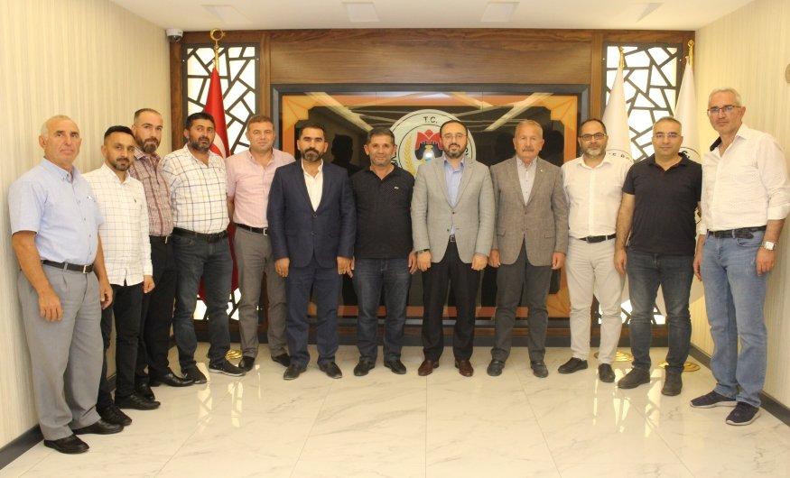 AK Parti Heyetinden Nevşehir Ticaret Borsasına Ziyaret