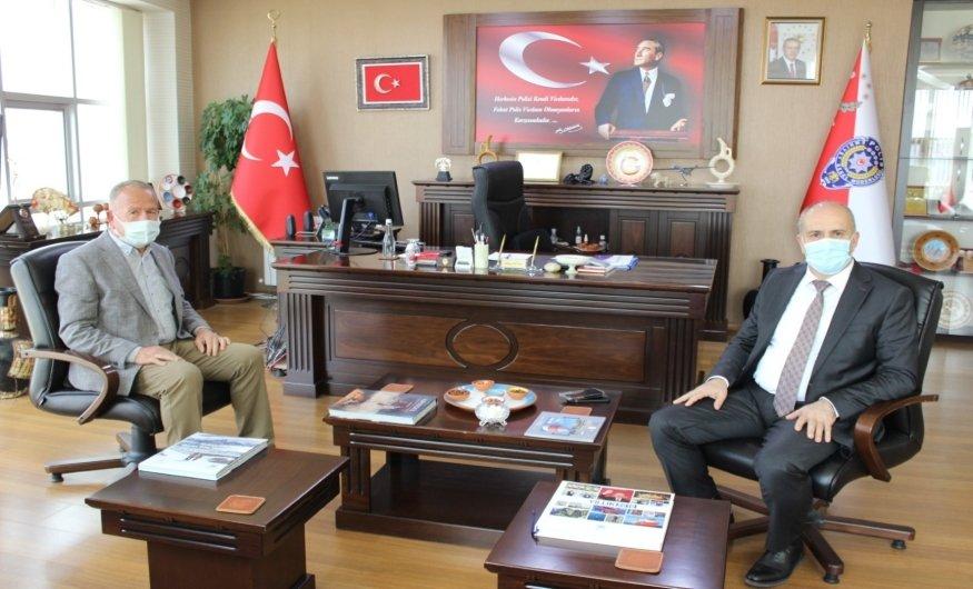 Başkan Salaş'dan İl Emniyet Müdürü Artunay'a Ziyaret