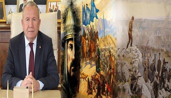 Başkan Salaş'dan Malazgirt Zaferi ve Büyük Taarruz mesajı