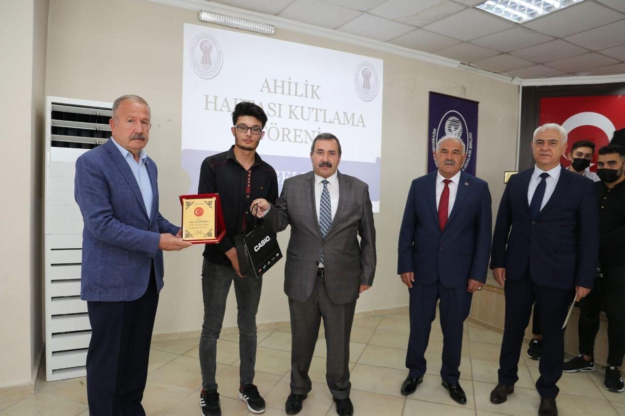 Başkan Salaş, Nevşehir'in Ahi'leri Plaket Törenine katıldı