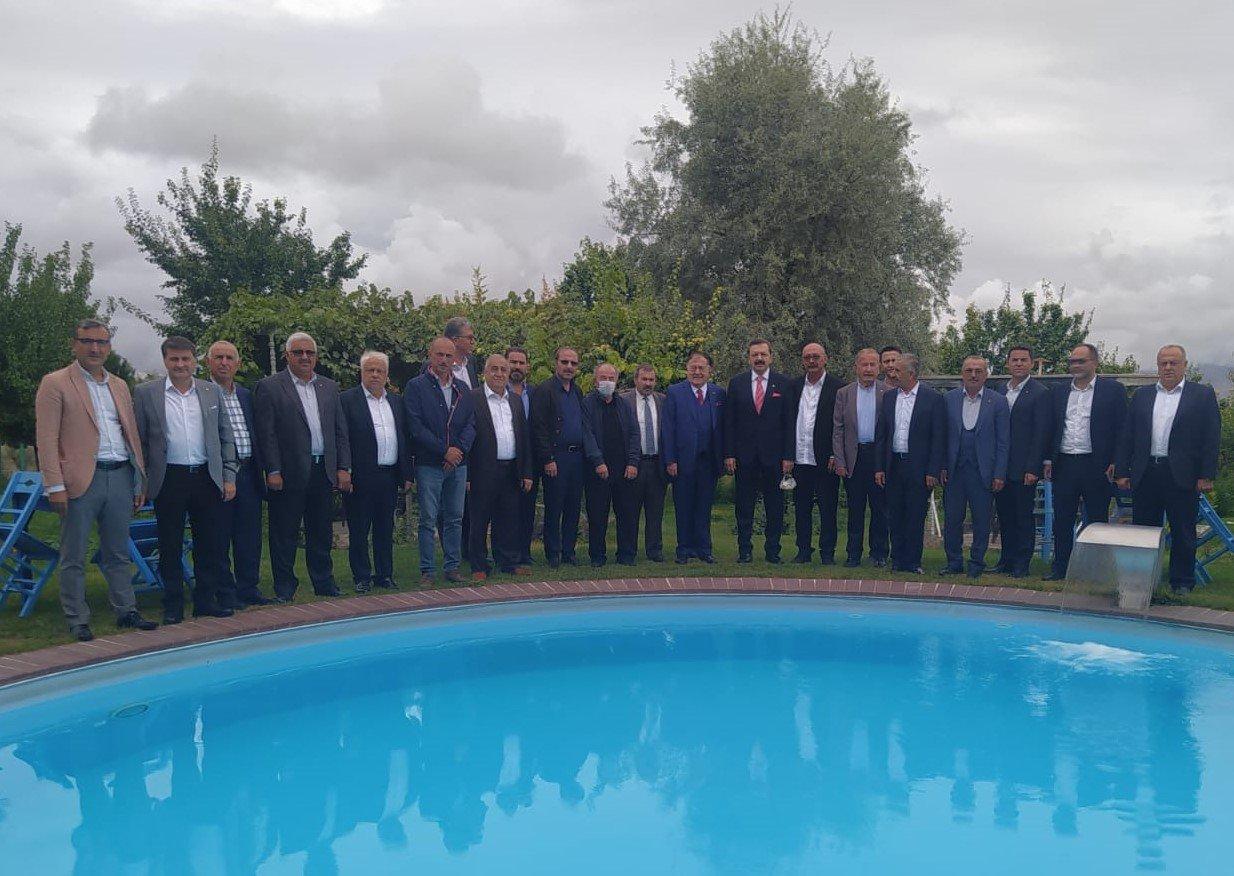 TOBB Başkanı Hisarcıklıoğlu Nevşehir'de İş Dünyası İle Buluştu
