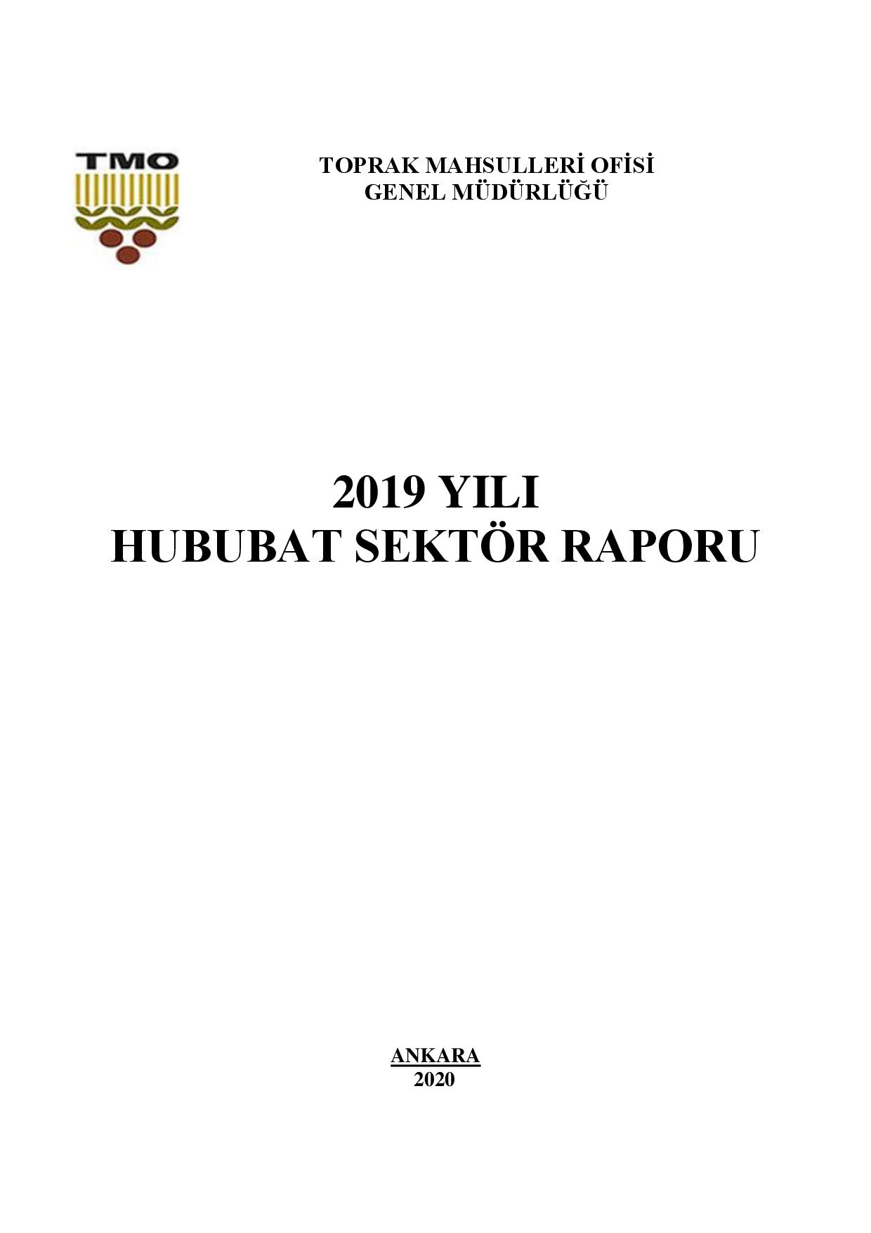 TMO HUBUBAT SEKTÖR RAPORU 2019
