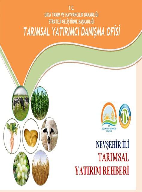 TARIMSAL YATIRIM REHBERİ 2002-2014